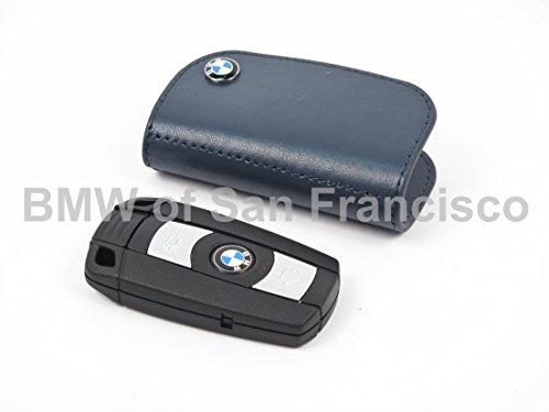BMW Leather Key Cases Blue