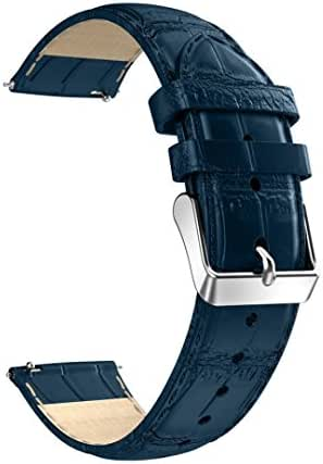 NewKelly Watchband for Huawei Asus Zenwatch 2,Leather Strap Replacement Watch Band