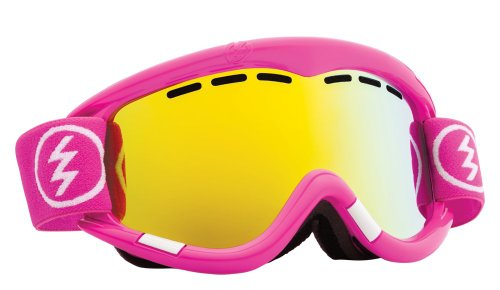 Electric Visual EG1 Punk Pink/Bronze Gold Chrome Snow Goggle (Pink Goggles Chrome)