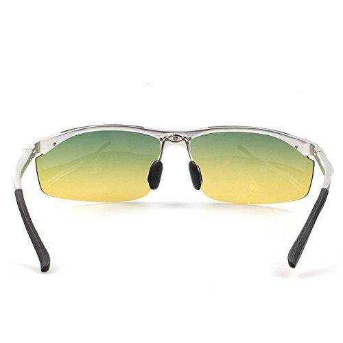 a3a2d6dfdf 30% de descuento TIANLIANG04 Noche gafas de sol polarizadas hombres de  al-mg frame