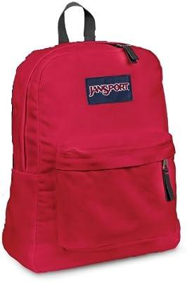 JanSport Classic SuperBreak Backpack, red