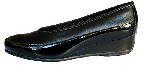 45030 Patent Wedge Shoe Black Ara 16 gwdqPPS