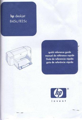 HP DeskJet 845c 825c Users Guide