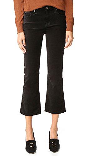 Velvet Cropped Pants - 3