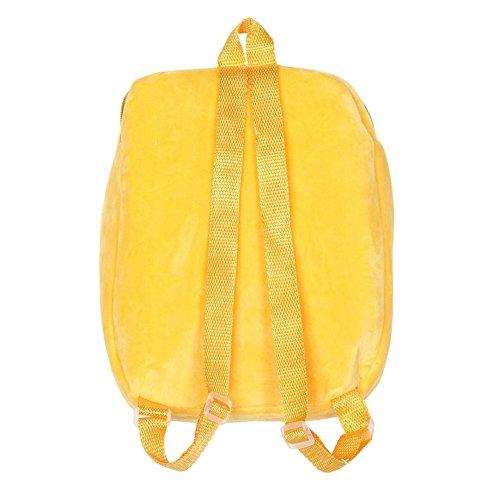 Damen Tasche, KIMODO Nette Emoji Emoticon Schulter Schule Kind Tasche Rucksack Schultasche Rucksack Handtasche (A) A