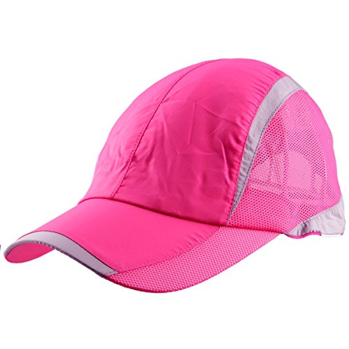 Samtree Sport Sun Hats Women Men,Lightweight Ultra Thin Running Hat Baseball - Hat Pink Running