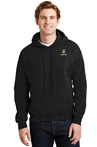 (Custom Embroidered Gildan Heavy Blend Pullover Hooded Sweatshirt)
