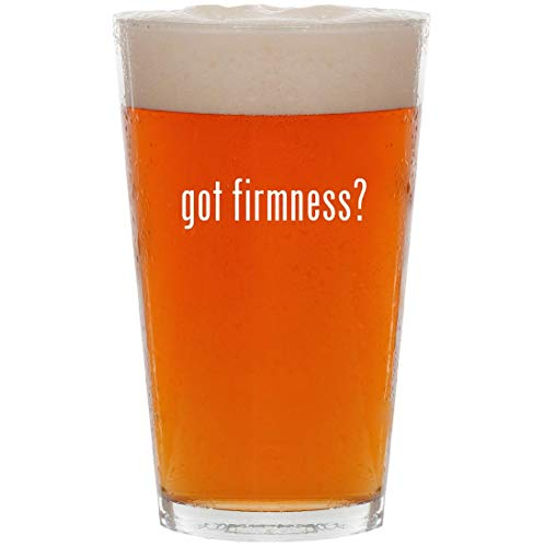 got firmness? - 16oz All Purpose Pint Beer Glass (Best Big Four Accounting Firm)