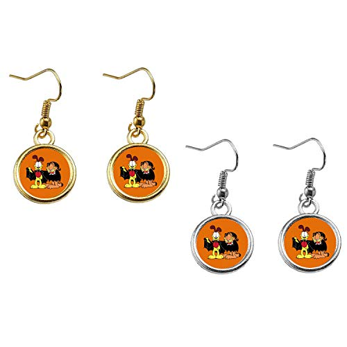 Garfield Halloween Earrings]()