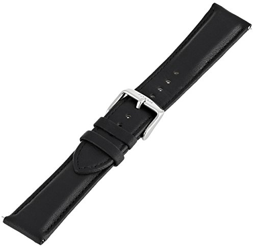 Fossil Women's S201022 20mm Leather Watch Strap - Black by Fossil (Image #2)