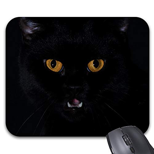 Cat Mouse Pad Non-Slip Rubber Base for Home Office -