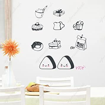 Custom PopDecals   Delicious Food   Beautiful Tree Wall Decals For Kids  Rooms Teen Girls Boys Part 60