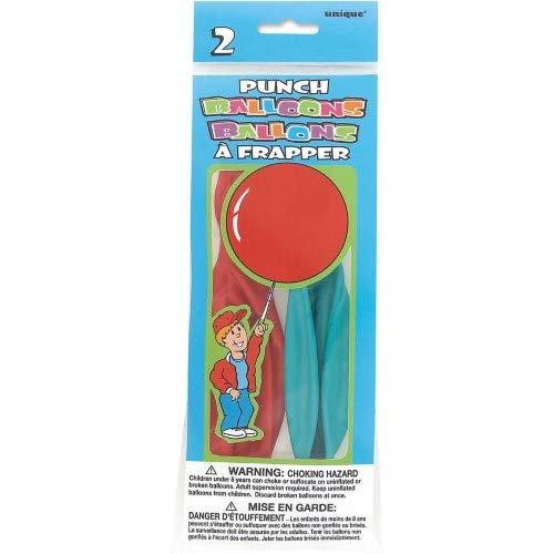 Punch Ball Balloons (Pack of 36)