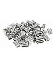 Kitchen-dream aluminium krimplus voor 1,5 mm draadkabel en kabel