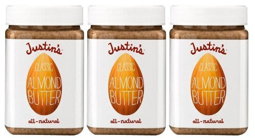 Justin's Nut Butter Natural Classic Almond Butter 16 oz Plastic Jar 3 pk [並行輸入品]   B07N512DN1