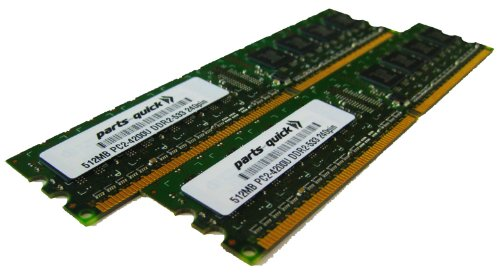 1GB Kit 2 X 512MB DDR2 Desktop Memory for Dell XPS 200 XPS 210 XPS 400 XPS 600 XPS 700 XPS 710 XPS 710 H2C PC2-4200 240 pin 533MHz DIMM RAM