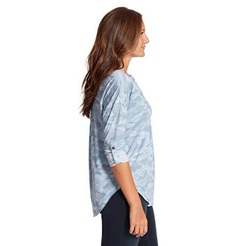 NINE WEST Women's Brinne Roll Tab Sleeve Henley To - Choose SZ/color