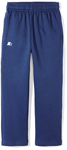 Starter Boys' Open-Bottom Sweatpants with Pockets, Amazon Ex