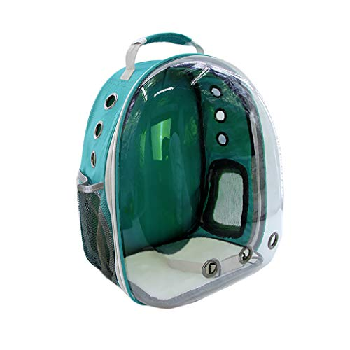 SmallYin New Portable Pet Cat Dog Travel Carrier Backpack Space Capsule Breathable Bag