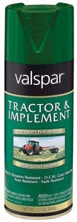 Implement Spray Enamel - Tractor and Implement Enamel Spray Paint [Set of 6] Color: John Deere Green