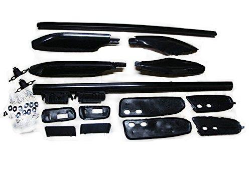 ITrims Black Car Top Roof Rack Rails Bars Luggage Rails for Toyota Land Cruiser Prado Fj120 J120 / for Lexus GX470 2003-2009