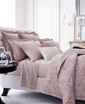 Ralph Lauren Madeleine Francoise KING Comforter - Gray Multi