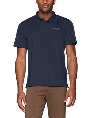 (Columbia Men's PFG Skiff Cast Polo Shirt, Breathable, UV Protection)