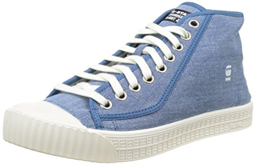 G-star Raw Hombres Rovulc Hb Mid Sneaker Chambray