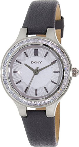 DKNY Women's NY2431 CHAMBERS Analog Quartz Grey Watch