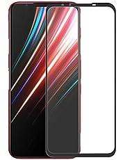 For Nubia Red Magic 5G طبقة حماية كاملة للغراء ، فائق النحافة HD 2.5D واقي شاشة من الزجاج المقوى - أسود