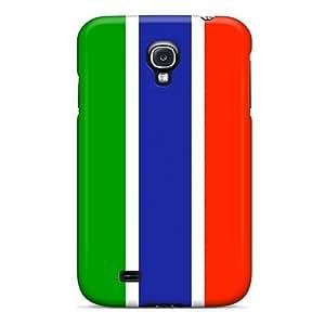 Premium Durable Gambia Flag Fashion Tpu Galaxy S4 Protective Case Cover