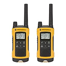Motorola Talkabout T400 Rechargeable  Two-Way Radio Pair (Yellow)