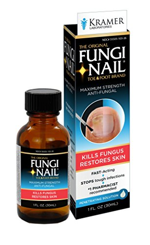 Fungi Nail 1oz Solution, With Brush