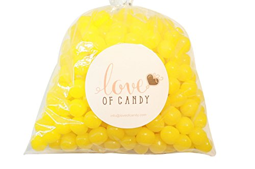 Love of Candy Bulk Candy - Fruit Sours - Lemon - 1lb Bag