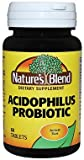 Nature's Blend Acidophilus Probiotic, 60 Tablets Each (Pack of 7)