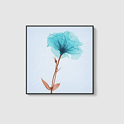 Framed Home Artwork Beautiful Flower for Living Room Bedroom