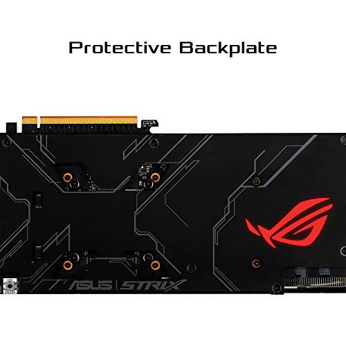 ASUS ROG Strix AMD Radeon RX 5700XT Overclocked 8G GDDR6 HDMI DisplayPort Gaming Graphics Card (ROG-STRIX-RX5700XT-O8G-GAMING)