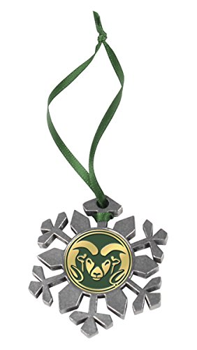(LinksWalker NCAA Colorado State Rams - Snow Flake Ornament)