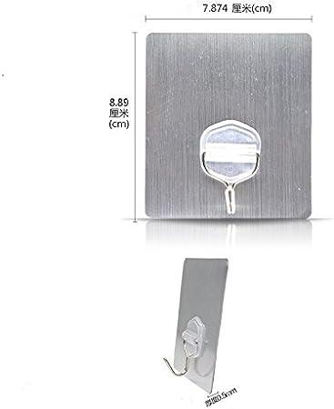 ganci da parete resistente impermeabile appendiabiti da parete ganci per accappatoio//cappotto//asciugamano//chiavi//borse//luci//calendari/ Lanker ganci /casa cucina bagno KH08P 2