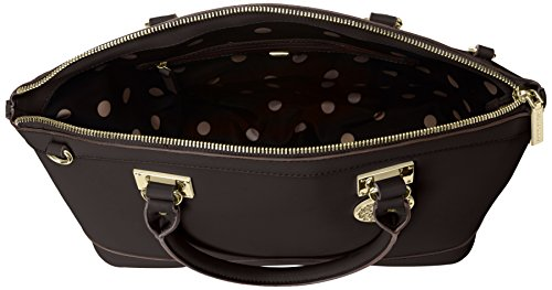 4bcb1b337 Anne Klein New Recruits Dome Large Satchel Bag, Black, One Size