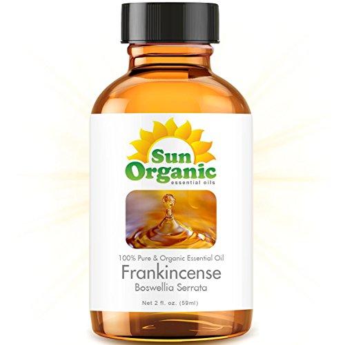 Органические Ладан (2 жидких унций) Эфирное масло 100% Pure - Лучшие 2 унции (59ml) - вс Органическая