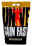 Universal Nutrition Gain Fast , Cookies And Cream, 10-Pounds
