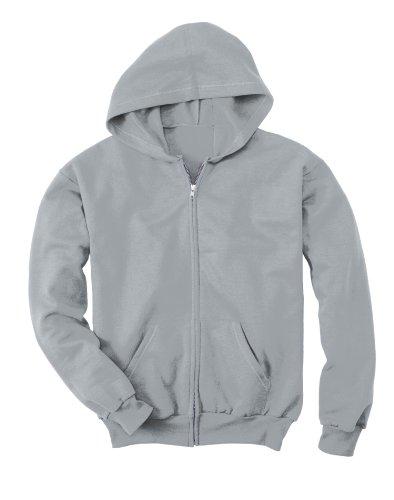 Hanes Full Zip Hoodie (Hanes Comfortblend® EcoSmart® Full-Zip Kids' Hoodie Sweatshirt)