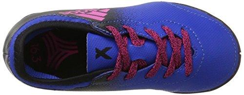 adidas X Tango 16.3 In J, Zapatillas de Fútbol Unisex Niños Azul (Blue/shopin/c Black)
