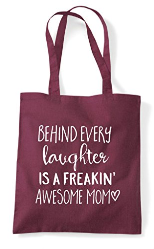 A Burgundy Bag Every Statement Behind Tote Freaking Family Shopper Is Awesome Laughter Mom 4wCH6nSx