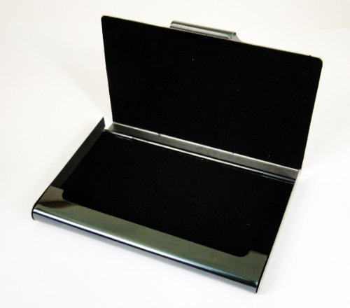 Black 403 Steel Strips Card Tapp Strips Steel Ripple Ripple Collections Case Holder Black Name Stainless Business S1vYqf