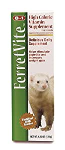 8 In 1 FerretVite Multi-Vitamin Paste, 4.25-Ounce