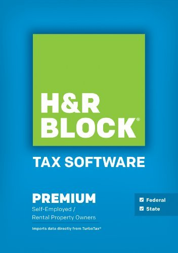 H&R Block Tax Software Premium + State 2014 Win [Download]
