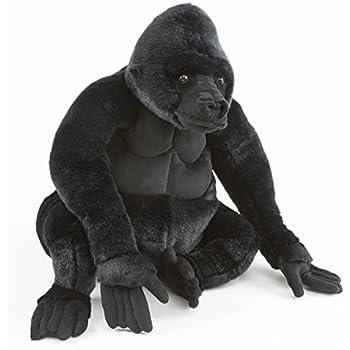 Melissa & Doug Giant Gorilla - Lifelike Stuffed Animal (over 2 feet tall)