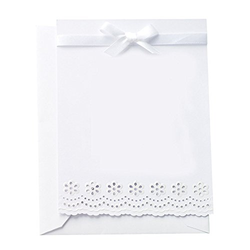 Martha Stewart Doily Lace - Martha Stewart Crafts Doily Lace Invitations